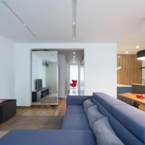 гостиная современный минимализм