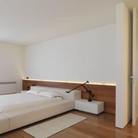 спальня современный минимализм