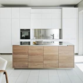 кухня современный минимализм