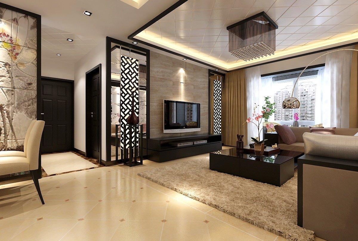 современный стиль гостиной комнаты