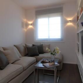спальная комната с диваном идеи фото
