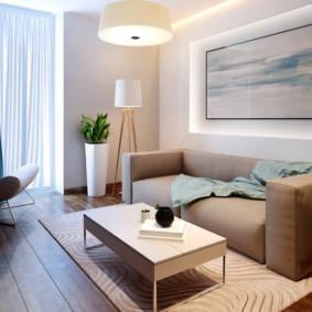 спальная комната с диваном дизайн идеи