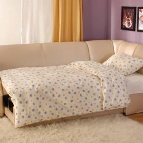 спальная комната с диваном фото декора