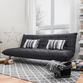 спальная комната с диваном идеи декора