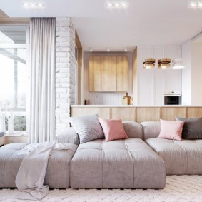 спальная комната с диваном фото оформления