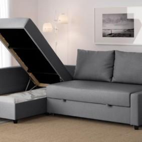 спальная комната с диваном оформление идеи