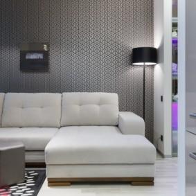 спальная комната с диваном идеи оформления