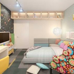 спальная комната с диваном идеи