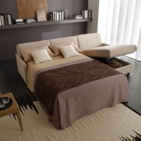 спальная комната с диваном идеи варианты