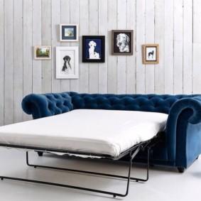 спальная комната с диваном фото видов