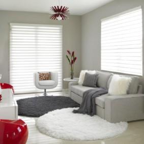 спальная комната с диваном виды идеи