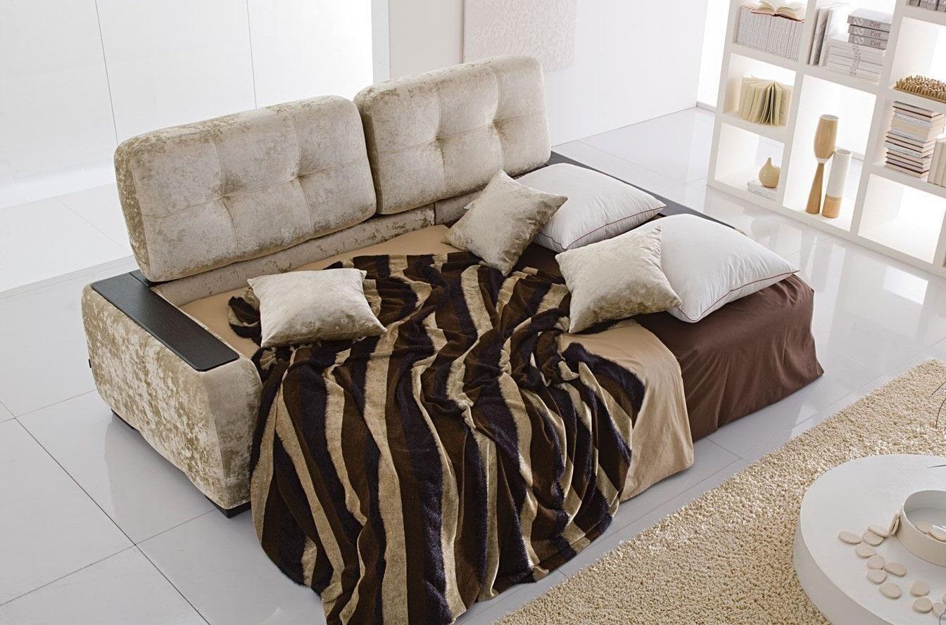 спальная комната с диваном фото дизайна