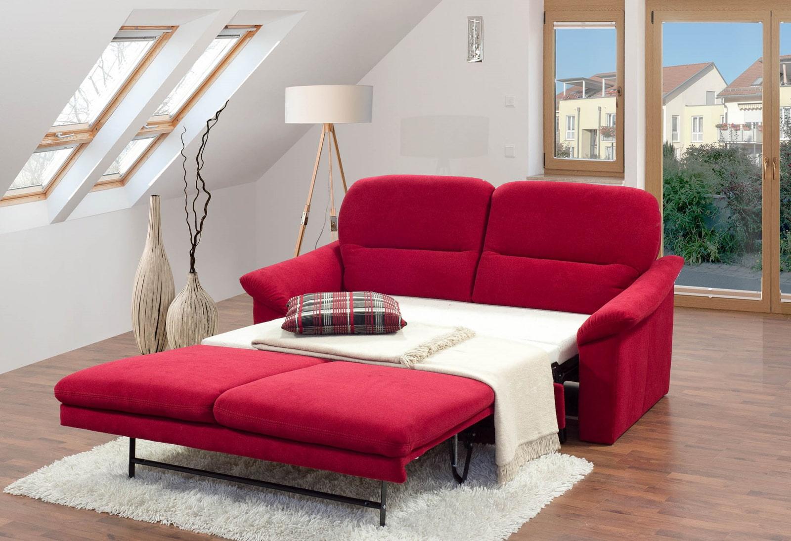 спальная комната с диваном фото идеи