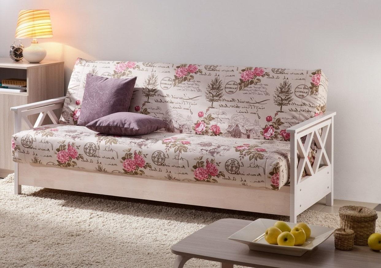 спальная комната с диваном прованс