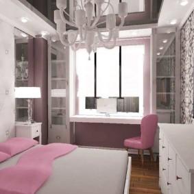 спальня для девушки декор