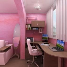 спальня для девушки декор фото
