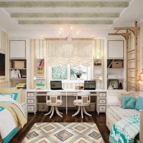 спальня для девушки фото декора