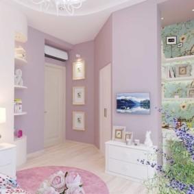 спальня для девушки идеи декора