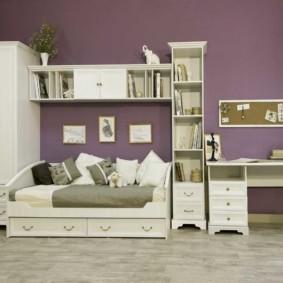 спальня для девушки фото интерьера