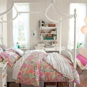спальня для девушки интерьер идеи
