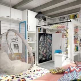 спальня для девушки идеи интерьер