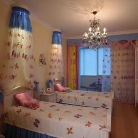 спальня для девушки оформление