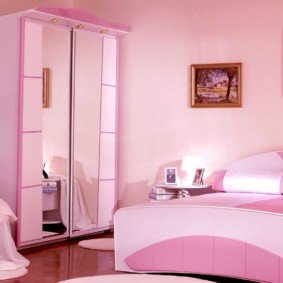 спальня для девушки оформление фото