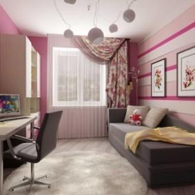 спальня для девушки идеи оформление