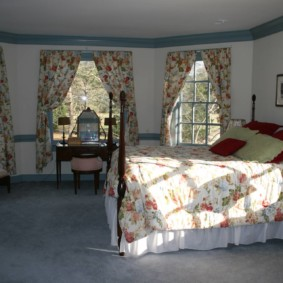 спальня для девушки варианты