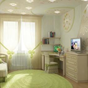 спальня для девушки фото варианты