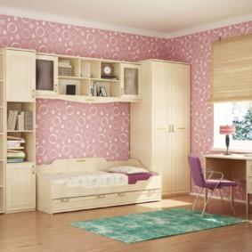 спальня для девушки фото вариантов