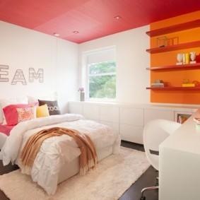 спальня для девушки идеи варианты