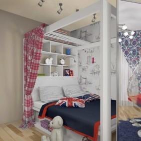 спальня для девушки виды фото