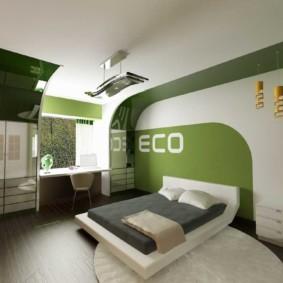 спальня для девушки фото виды