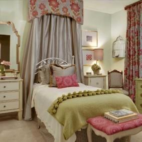 спальня для девушки фото видов