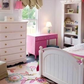 спальня для девушки виды дизайна