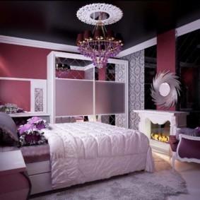 спальня для девушки виды декора