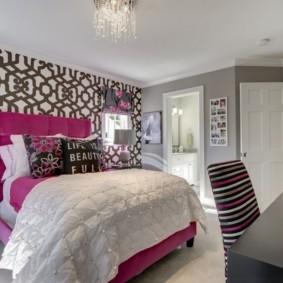 спальня для девушки фото дизайн