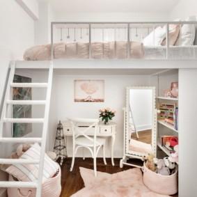 спальня для девушки фото дизайна