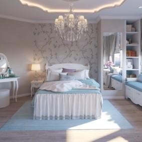 спальня для девушки дизайн