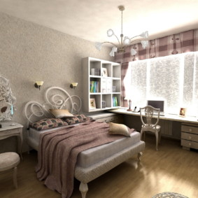 спальня для девушки фото