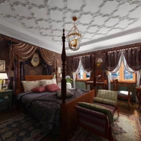 интерьер комнаты в восточном стиле фото декор