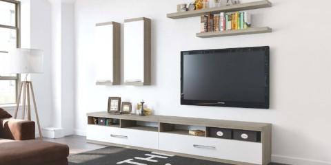 стенка под телевизор минимализм