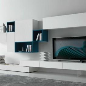 стенка под телевизор минимализм идеи