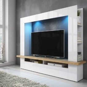 стенка под телевизор в гостиную идеи вариантов