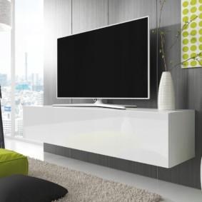 стенка под телевизор в гостиную виды дизайна