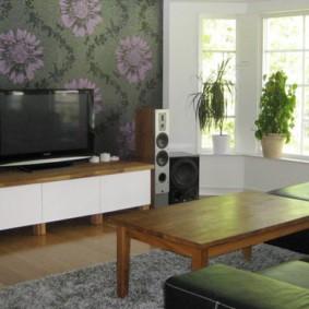 стенка под телевизор в гостиную фото идеи