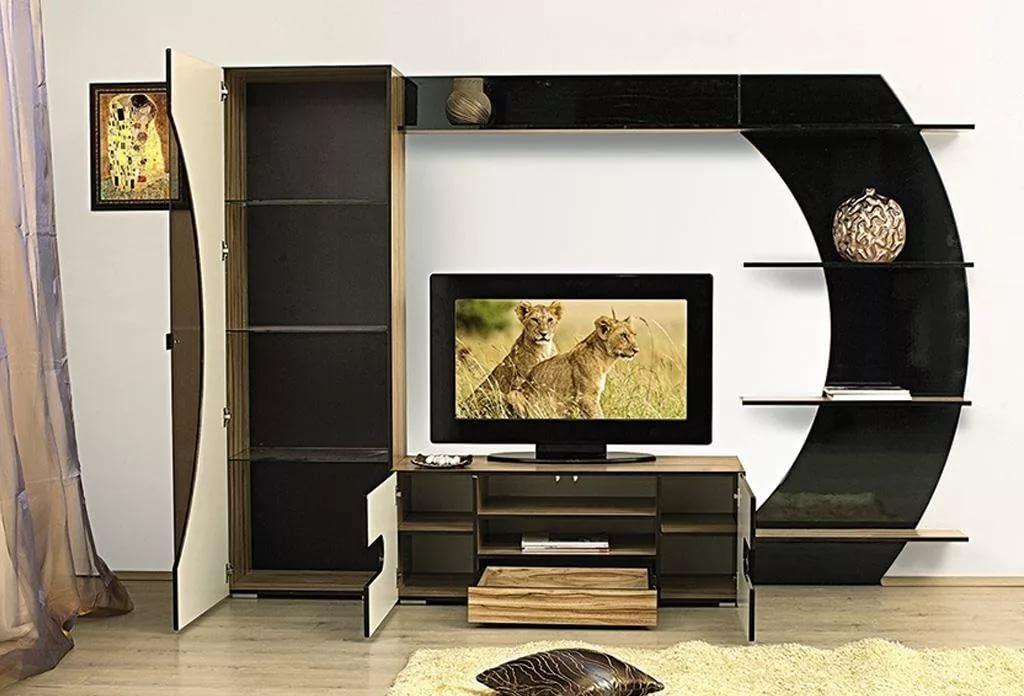 стенка под телевизор в гостиную дсп