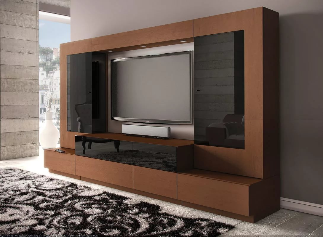 оптимального шкаф для телевизора фото сам выполнял