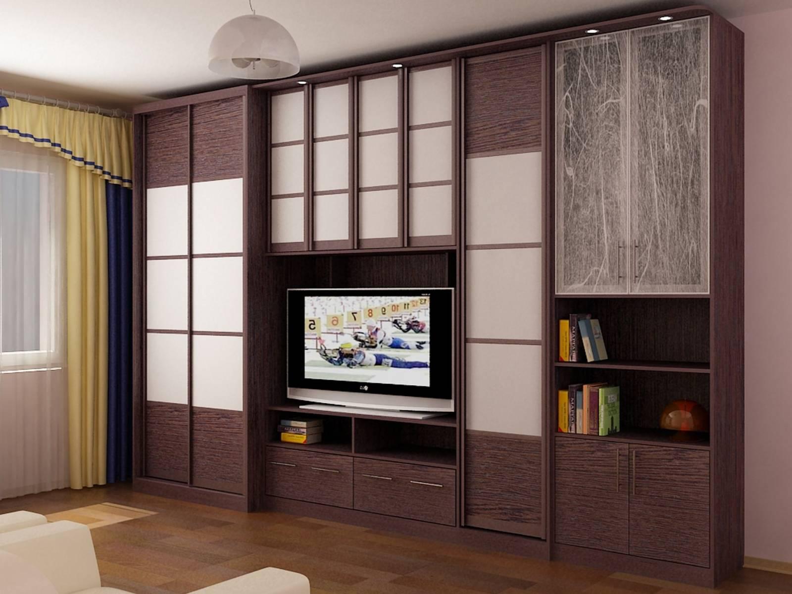 стенка шкаф под телевизор